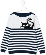 Fendi cat jumper - kids - Cotton - 3 yrs