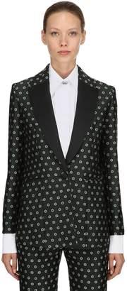 ALEXACHUNG Alexa Chung Floral Jacquard Jacket