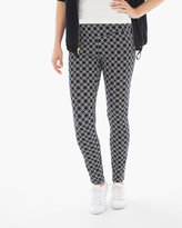 Chico's Square Geometric-Print Leggings