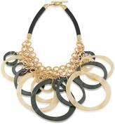 Trina Turk Circles Bib Necklace, 24