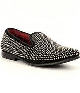 Steve Madden Men's Caviarr Crystal Embellishment Slip On Loafer