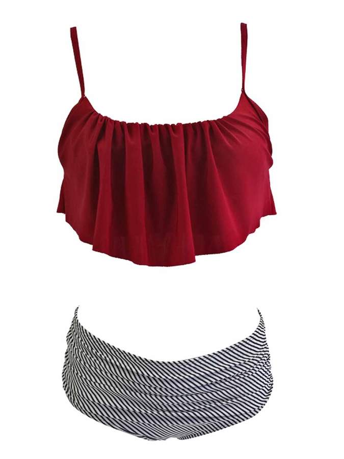 351bbd3890a Straps High Waisted Bikini Bottoms - ShopStyle Canada