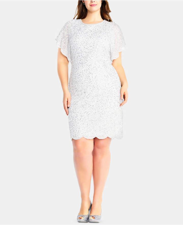 Ivory Plus Size Dresses - ShopStyle
