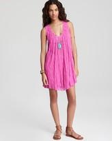 Dress - Stripe Lace Swing