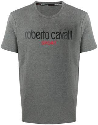 Roberto Cavalli logo printed T-shirt