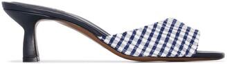 Neous Talum gingham sandals