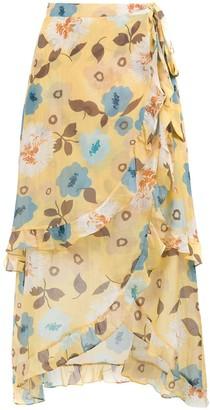 Clube Bossa Sania printed skirt