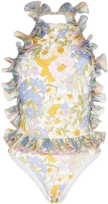 Zimmermann Super Eight Frill swimsuit