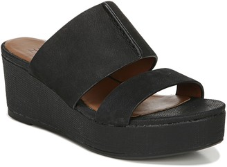 Naturalizer Wedge Heel Slide Sandals - Urbana
