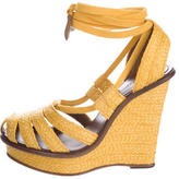 Bottega Veneta Espadrille Wedge Sandals
