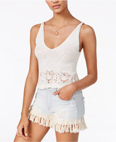 American Rag Cotton Cropped Knit Tank Top, Created for Macy's