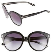 Tom Ford 'Monica' 54mm Retro Sunglasses