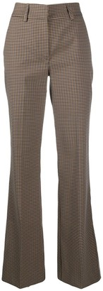 P.A.R.O.S.H. Houndstooth Print Trousers