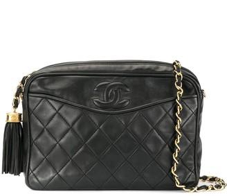 Chanel Pre Owned Tassel Chain Shoulder Bag