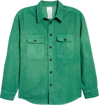 Visvim Lumber Uneven Dye Cotton Twill Shirt