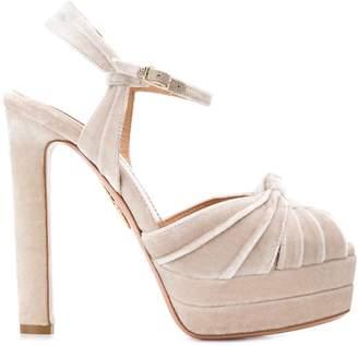 Aquazzura open toe platform sandals