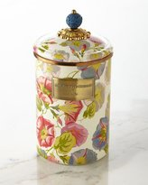 Mackenzie Childs MacKenzie-Childs Large Morning Glory Canister