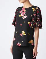 Monsoon Ada Mixed Print T Shirt