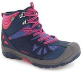 Merrell Toddler 'Capra' Mid Waterproof Hiking Shoe