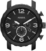 Fossil Nate 24mm Stainless Steel Watch Case – Black
