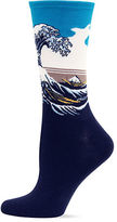Hot Sox Great Wave Trouser Socks