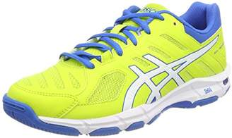 Asics Men's Gel-Beyond 5 Volleyball Shoes, Energy Green/White/Electric Blue 7701, 46 EU