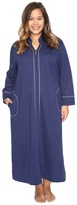 Carole Hochman Plus Size Quilted Zip Robe