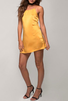 Motel Rocks Mustard Slip Dress