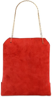 The Row SMALL LUNCH SUEDE BAG