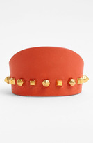 Vince Camuto Studded Leather Cuff