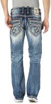 Rock Revival Men's Cyrek J201 Straight Cut Jeans