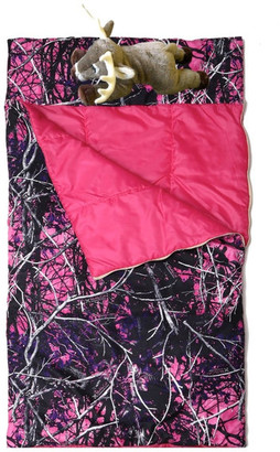 Carstens, Inc. Muddy Girl Slumber Bag With Deer Pillow