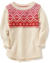 Old Navy Fair Isle Scoop-Neck Pullover for Toddler