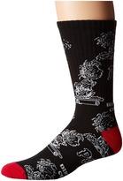 HUF Pigpen DBC Crew Sock