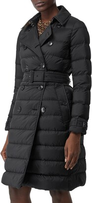 Burberry Arniston Double Breasted Puffer Coat