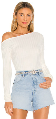 Lovers + Friends Angela Off Shoulder Sweater