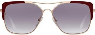 Prada Collection square sunglasses