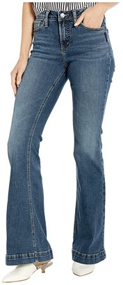 Silver Jeans Co. High Note High-Rise Flare Leg Jeans in Indigo