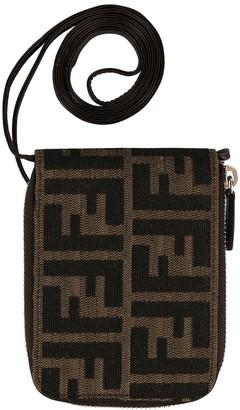 Zucca pattern wallet on strap
