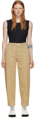 See by Chloe Tan Panelled Jeans