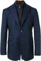 Pal Zileri detachable collar blazer