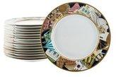 Bernardaud Set of 16 Metropoles Dinner Plates