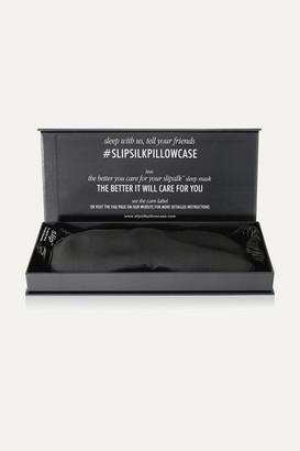 Slip Silk Eye Mask - Charcoal