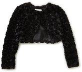 Bonnie Jean Little Girls 2T-6X Faux-Fur Cardigan