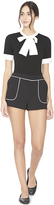 Alice + Olivia Rosette Front Patch Pocket Short