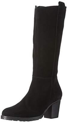Bianco Women's Long Suede Boot JJA16 Long Boots Black Size: