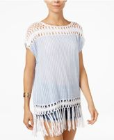 Steve Madden Crochet Poncho & Swim Cover-up
