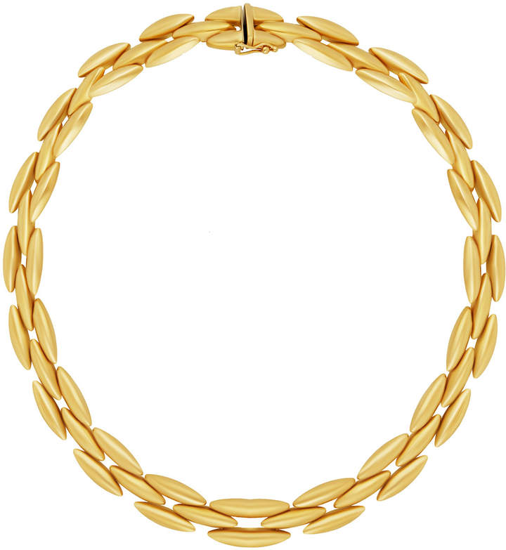 Cartier 18k Yellow Gold 3-Row Necklace