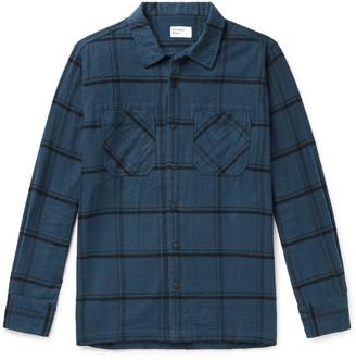 Universal Works Garage Ii Checked Cotton-Flannel Shirt