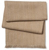 Threshold Basic Tan Table Runner